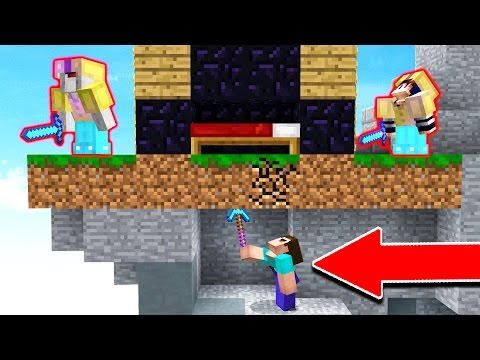 HOW DID THEY NOT SEE THIS... (Minecraft Bed Wars)