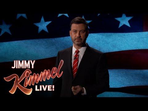Jimmy Kimmel Pledges to Faithfully Satirize President Trump