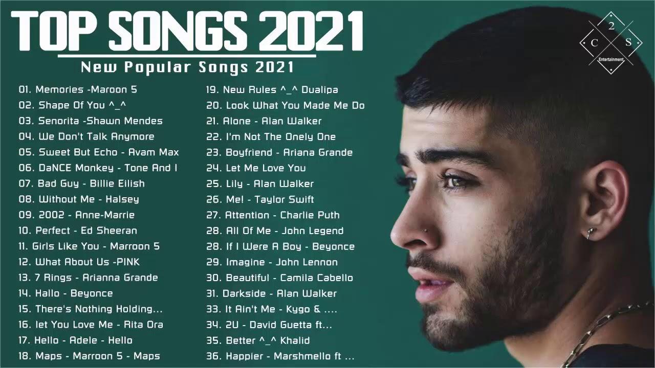 Lagu paling enak didengar saat kerja 2021 - Lagu Barat Terbaru 2021 Terpopuler Saat Ini [NEW]