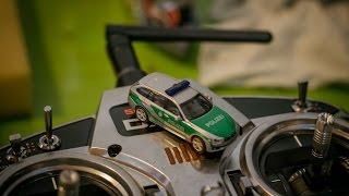 BMW Touring der Polizei Bayern auf der faszination Modellbau Friedrichshafen | RC 1:87