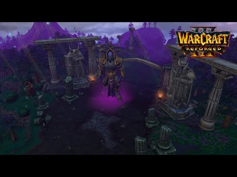 Night Elf Campaign All Cutscenes | Warcraft 3 Reforged Eternity's End