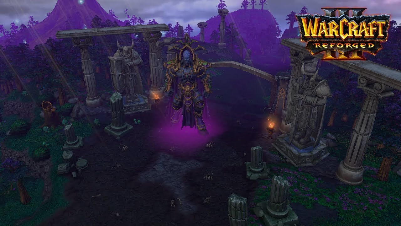 warcraft 3 night elf logo