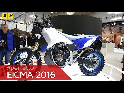 Yamaha Concept T Ténéré [ENGLISH SUB]