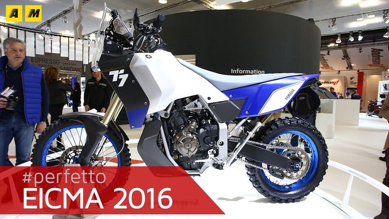 Yamaha Concept T7 Ténéré English Sub Youtube