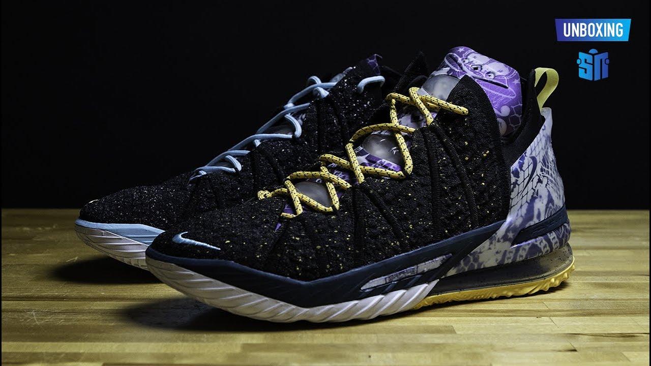 Unboxing Nike Lebron 18 Reflections Youtube