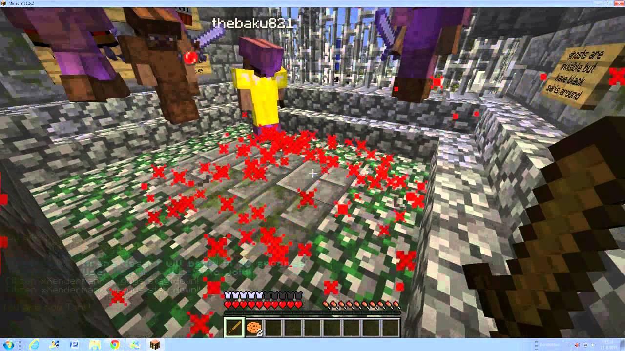 Minecraft 1 6 4 cracked server hide n seek facti YouTube