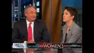 Castellanos kills Rachel Maddow on women's pay