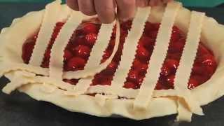 HOW TO MAKE Lattice Pie Crust