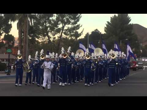 Lake Elsinore Winter Festival 12-5-15 Terra Cotta Middle School Band