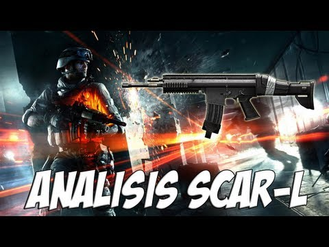 Battlefield 3 | Análisis SCAR-L | Close Quarters