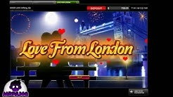 Love From London - Free Spins Bonus  at 888casino