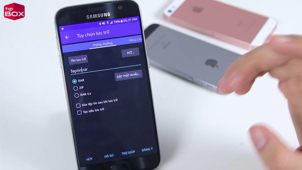 Cách giải nén file RAR và ZIP trên điện thoại