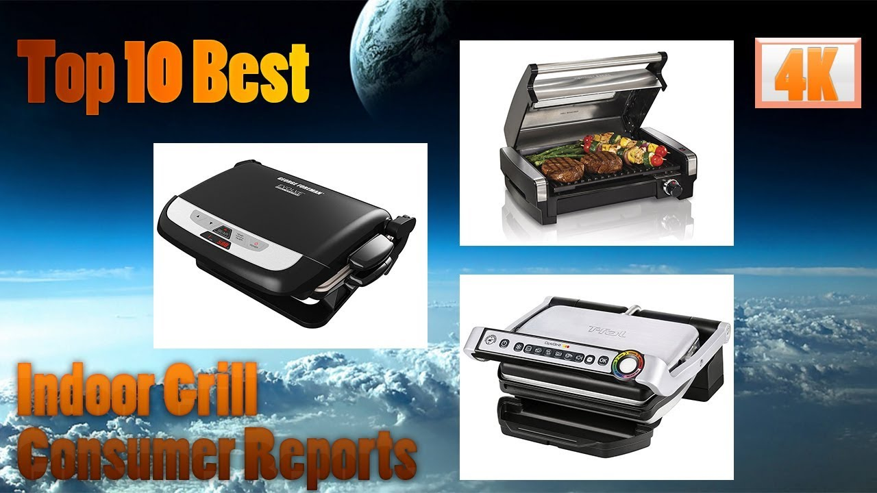 Top 10 Best Indoor Grill Consumer Reports [4K] - YouTube