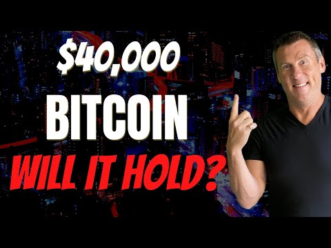 BREAKING Bitcoin NEWS Crypto NEWS (Bitcoin Over $40,000!) Cryptocurrency Ether Litecoin Altcoins?