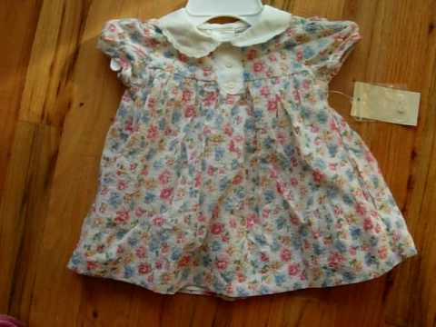 362c6842c NWT Polo by Ralph Lauren Floral Baby Cotton Dress - Size: 3 months ...