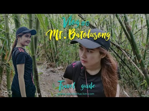 Mt. Batolusong Travel Vlog #6