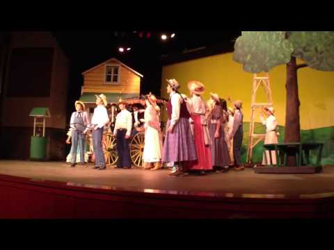 Mt View High School Oklahoma Musical