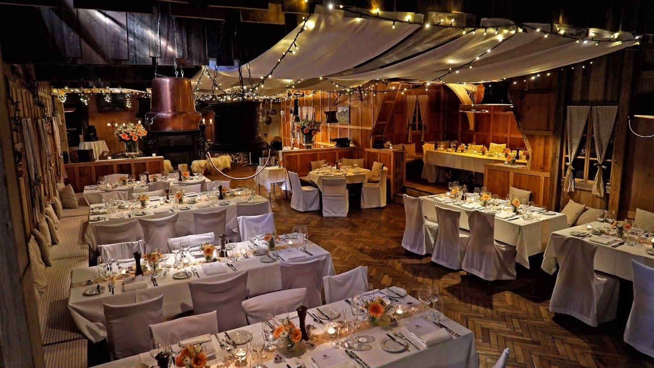 Hochzeit heiraten in der rigi h tte by hotel seeburg for Hochzeitsdeko hamburg
