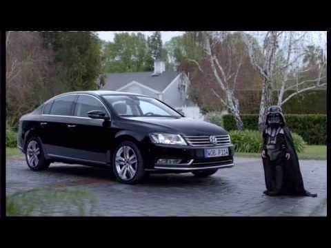 das auto darth vader volkswagen passat commercial youtube