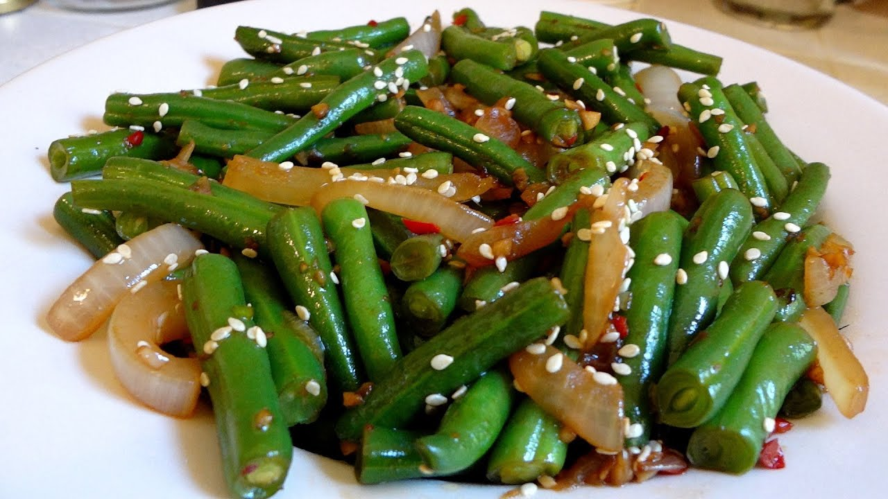 Green Bean Recipe for people who hate green beans - YouTube