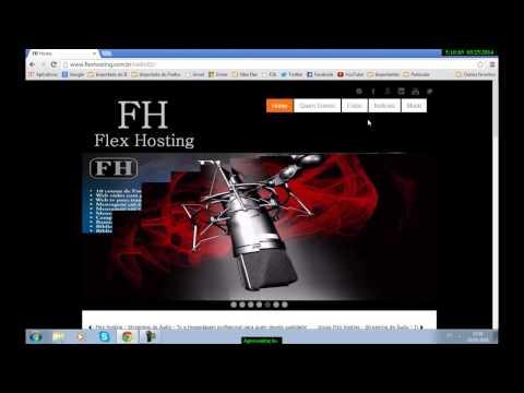Apresentação Do Template De Web Rádio Na Plataforma Joomla