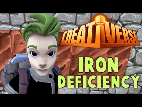 creativerse how to get iron