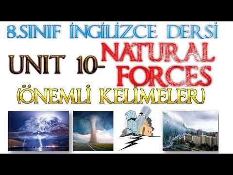 8.SINIF İNGİLİZCE DERSİ 10.ÜNİTE ÖNEMLİ KELİMELER