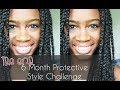 The End:  6 Months Protective Style Challenge