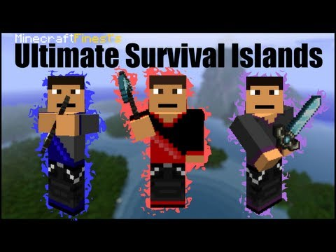 Minecraft Ultimate Survival Islands Part 4: I'm On A Boat!