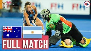 Australia v Argentina | Womens World Cup 2018 | FULL MATCH