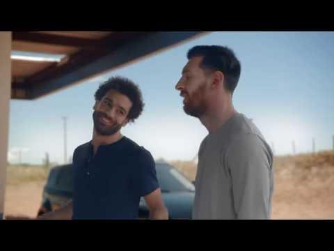 Салах и Месси в новой рекламе Pepsi Max
