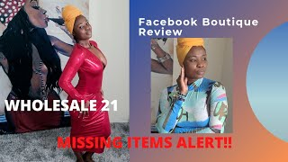 Wholesale 21. Online Boutique Review. Clothing haul. Try on haul. Facebook website review.