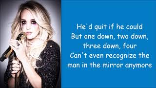 Carrie Underwood ~ Spinning Bottles (Lyrics)