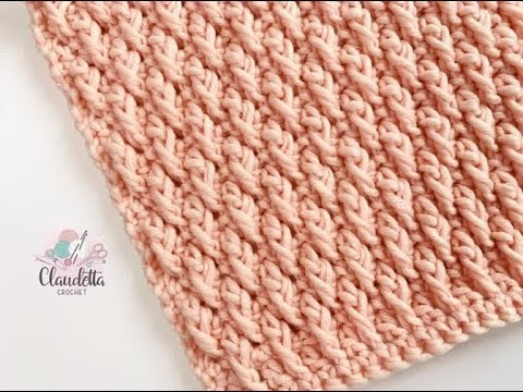 CROCHET ALPINE STITCH / BEGINNER