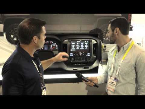 Alpine Restyle system for GMC and Chevy full-size trucks | CES 2016 | Crutchfield