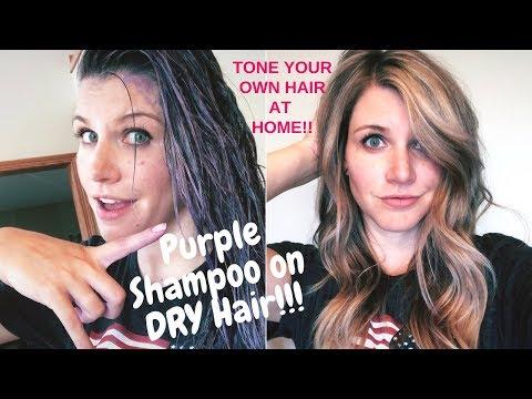 how-to-use-purple-shampoo-|-best-purple-shampoo-technique!!