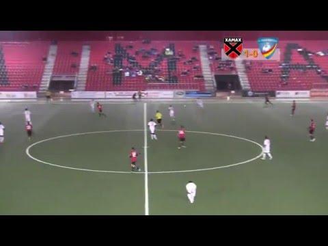 Yohan Viola en acción-Fútbol suizo