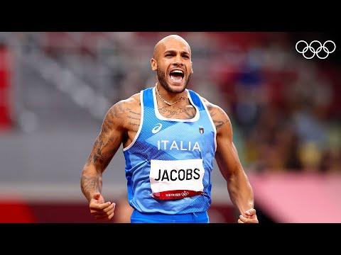 Athletics Tokyo 2020: Italian Marcell Jacobs claims 100m crown   #Tokyo2020 Highlights