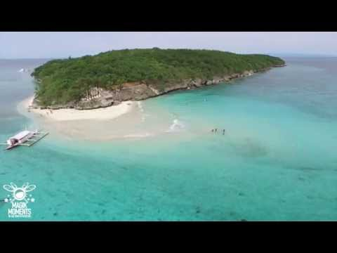 Oslob To Sumilon Island In 3 Minutes (Time Lapse) - DJI Inspire 1