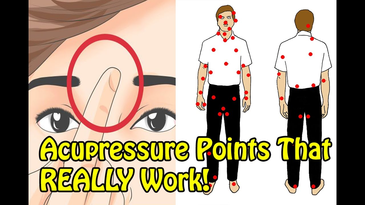 10 Important Pressure Points That Actually Heals Your Body Mind