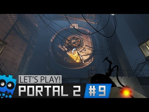 Let's Play Portal 2! - The Answers Are beneath Us?! - Part 9