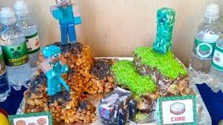 День рождения Minecraft | День рождения подростка: как оформить, чем развлечь | В стиле Майнкрафт