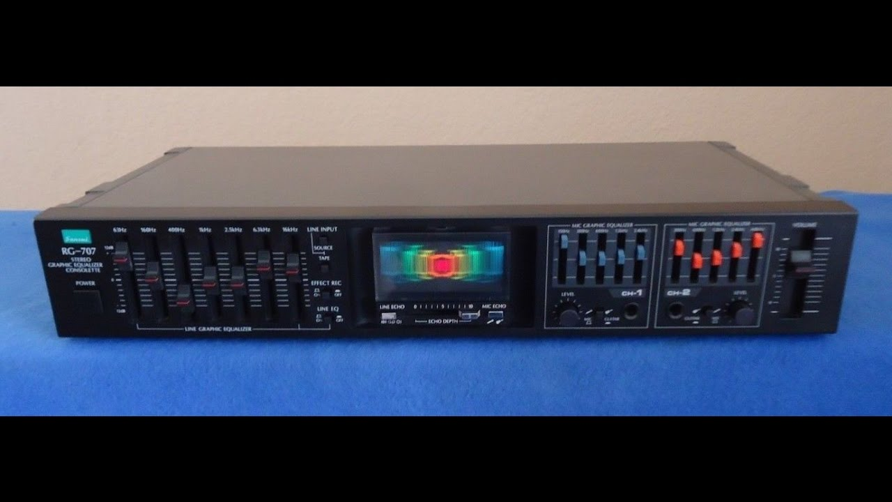 sansui rg 707 graphic equalizer consolette 673051519 youtube rh youtube com User Webcast User Guide Template