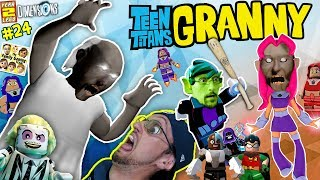GRANNY Plays LEGO w FGTEEV TEEN TITANS GO Stop Wicked Starfire LEGO DIMENSIONS Year 2 24