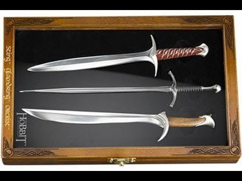 letter opener set the hobbit an unexpected journey noble collection