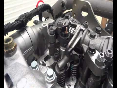 Procedimento regulagem de válvulas - Motor MAN D08 com EVB