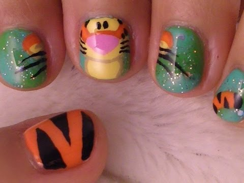 Winnie The Pooh Nail Art Collaboration With Arcadianailart And