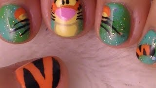 Winnie The Pooh Nail Art Collaboration With Arcadianailart And Professionaldq