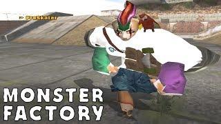 Monster Factory: Tony Hawk???? The Skateboarding Flat Man
