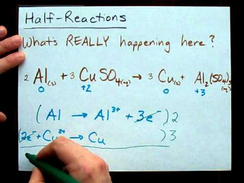 What Are The Half-Reactions?